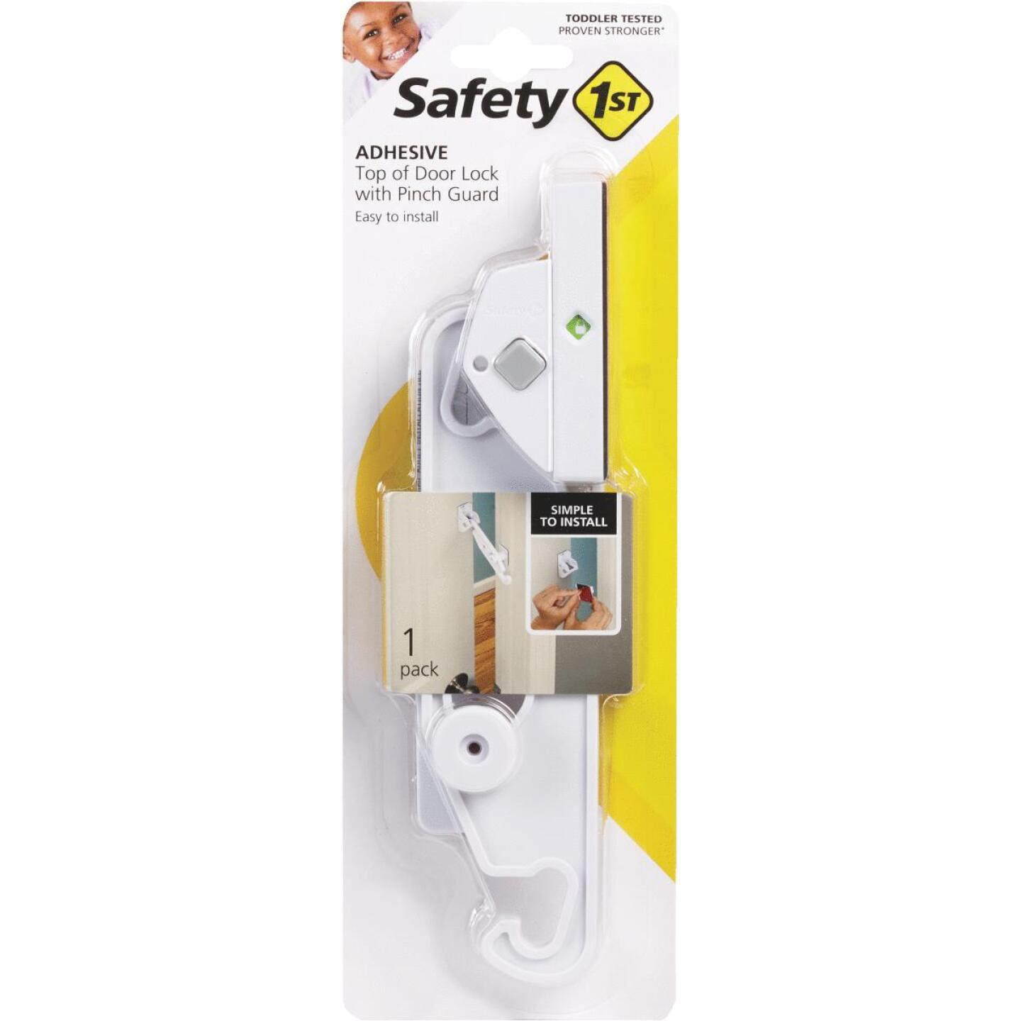 Safety 1st No Drill Top of Door Lock Image 1